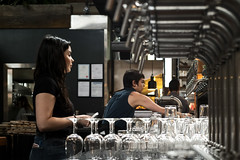 Wet Bar (Photo Alan) Tags: vancouver people workingpeople light lights bar wetbar beer