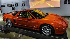 1997 Acura NSX-T (Thad Zajdowicz) Tags: zajdowicz availablelight lightroom usa travel leica car automobile vehicle auto 1997 acura nsxt petersenautomotivemuseum losangeles california color red colour racy wheel windshield indoor inside