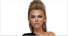 Maria (Sivyaleah (Elora)) Tags: genus project strong ysys maria tone 02 stealthic paradox ombres earrings rebel hope tassel justice jett blonde second life sl virtual model portrait high key closeup