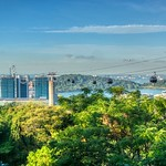 Cable car from Mount Faber to Sentosa island in Singapore thumbnail