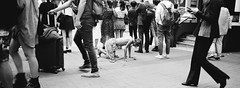 Unconcerned (stevenwonggggg) Tags: xpan hassblad rolleirpx100 bw streetphotography film street