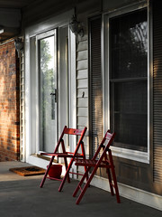 hardenyood (anescient) Tags: porch chairs sunset