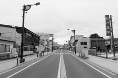 Shinjo 2 (peaceblaster9) Tags: town street shinjo yamagata japan sony rx100m3 blackandwhite bnw bw blackwhite 新庄 山形 モノクローム 白黒