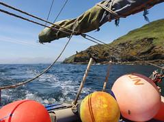 Polperro Cornwall (RossCunningham183) Tags: polperro cornwall boattrip fishingboat uk england bouys