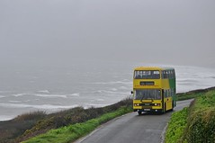 Windy Whitsand Wonder (Better Living Through Chemistry37) Tags: c412hjn 4012 cornwall buses preservedbuses preserved leyland leylandolympian olympian ecw easterncoachworks whitsandbay polhawn