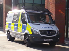 6347 - GMP - PO68 CRV - 101_2922 (Call the Cops 999) Tags: uk gb united kingdom great britain england 999 112 emergency service services vehicle vehicles greater manchester north west 101 police policing constabulary law and order enforcement gmp mercedes benz sprinter po68 crv city centre 16 february 2019