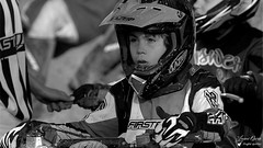 Corentin (Laurent Quérité) Tags: canonfrance canoneos350digital blackwhite noirblanc motocross 2roues portrait children monochrome saintlaurentdesarbres gard france corentinperolari
