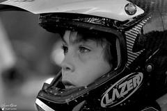 Corentin (Laurent Quérité) Tags: blackwhite noirblanc portrait children 2roues sportmécanique canonfrance canoneos350digital motocross saintlaurentdesarbres gard france corentinperolari