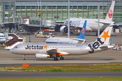 Airbus A320-232, JA03JJ, Jetstar Japan (tkosada.mac) Tags: jetstar jetstarjapan airbus a320 lcc tokyointernationalairport hanedaairport hnd rjtt