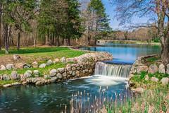 D.W. Field Park Spring (jlucierphoto) Tags: spring waterfalls park brockton massachusetts jameslucier nikon necn nbc10