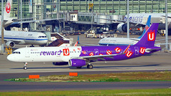 Airbus A321-231, B-LEJ, HK Express (reward-U Livery) (tkosada.mac) Tags: hkexpress rewardu airbus a321 tokyointernationalairport hanedaairport hnd rjtt