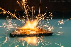 2019 126-365 Elemental (kayakingjanet) Tags: air earth elements fire macro techniques water macromondays fourelements 2019365 infinitepossibilities sparkler
