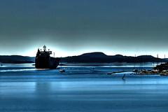Autopride leaving Wallhamn (ovehbg) Tags: boat ship wallhamn tjörn bohuslän sweden