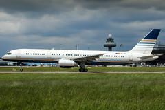 EC-ISY (PlanePixNase) Tags: eddv haj hannover airport aircraft planespotting langenhagen privilege boeing 757200 b757