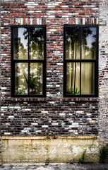 Dramatic Reflections (Kool Cats Photography over 13 Million Views) Tags: reflection reflections brick windows window wall hdr artistic architecture art abstract canon canoneos6d ef1635mmf4lisusm