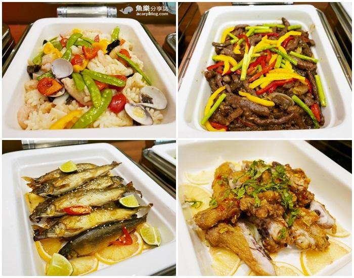 【台北中山】金穗坊西餐廳 – 慶泰大飯店│semi buffet CP值超高│螃蟹生魚片吃到飽 @魚樂分享誌