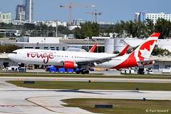 2019-02-16 FLL C-FMLZ (Paul-H100) Tags: 20190216 fll cfmlz boeing 767 b767 air canada rouge
