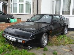 1988 Mitsubishi Starion 2.0 Turbo (Neil's classics) Tags: vehicle 1988 mitsubishi starion 20 turbo abandoned car
