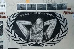 Los Derechos No Se, Piden Oaxaca (Ilhuicamina) Tags: mural art arte derechos rights feminism femenismo oaxaca mexico