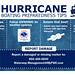 Hurricane Boating Preparedness Tips