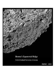 Bennu's Equatorial Ridge (Lunar and Planetary Institute) Tags: bennu osiris‐rex