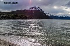 Lago Roca (© hacfoto) Tags: hielo nieve sur nubes montaña lago