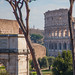 Arch of Titus and Colosseum