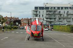 London's Air Ambulance in Wembley (kertappa) Tags: img0692 air ambulance londons london hems doctor paramedics hospital gehms emergency helicopter kertappa wembley