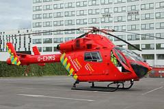 London's Air Ambulance in Wembley (kertappa) Tags: img0611 air ambulance londons london hems doctor paramedics hospital gehms emergency helicopter kertappa wembley