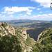 View of Santa Maria de Montserrat Abbey