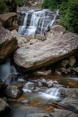 Highlands Waterfall (yarns101) Tags: waterfall water rush flow wet highlands sri lanka rocks exposure long rapids white nature
