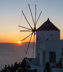 Sunset in Oia, Santorini. (athanasakisgia) Tags: sunset oia santorini