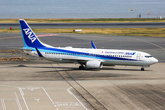ANA Boeing 737-881 JA76AN (Mark Harris photography) Tags: spotting hnd japan ana boeing 737 canon 5d