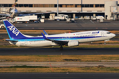 ANA Boeing 737-881 JA52AN (Mark Harris photography) Tags: spotting hnd japan ana boeing 737 canon 5d