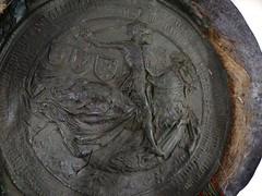 1467 - 'seal of Charles the Bold, duke of Burgundy', Stadsarchief, Leuven, province of Flemish Brabant, Belgium (roelipilami (Roel Renmans)) Tags: 1467 charles karl karel hertog herzog duke duc burgundy bourgogne burgund bourgondië brabant seal siegel sceau zegel joyous entry blijde intrede inkomst joyeuse entrée leuven louvain stadsarchief charter city archives ville armor armour horse armure harnas ritter armadura knight ridder chevalier brabante rüstung fleur de lys surcoat surcotte wappenrock wapenkleed wapenrok poleyn caparison sallet salade