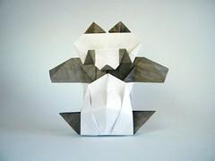 Tapu-tapu Panda - Oriol Esteve (Rui.Roda) Tags: origami papiroflexia papierfalten taputapu panda oriol esteve