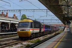 Great Western Railway 43185+43092 (hassaanhc) Tags: greatwesternrailway gwr firstgroup hst newbury newburystation