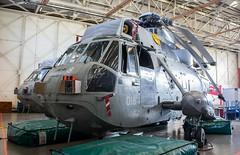 XV713 Royal Navy Westland Sea King HAS.1 @ HMS Sultan, Gosport, Hampshire. (Sw Aviation) Tags: xv713 royal navy westland sea king has1 hms sultan gosport hampshire has6 has5 helicopter heliport helipad helicopters avgeek aviation flying flight hangar stored training worked