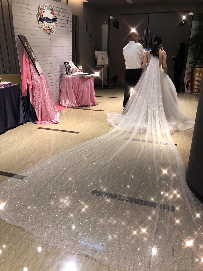 【新秘蓁妮】bride筑筑 訂婚造型 / 展華婚宴會館