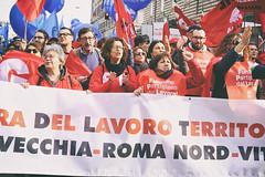 DSCF7252 (Alessandro Gaziano) Tags: alessandrogaziano roma foto fotografia reportage gente people italia visioni diritti italy manifestazione sindacato colori colors suoni