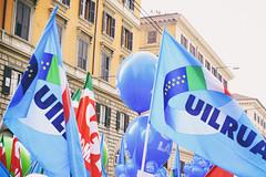 DSCF7248 (Alessandro Gaziano) Tags: alessandrogaziano roma foto fotografia reportage gente people italia visioni diritti italy manifestazione sindacato colori colors suoni