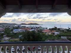 View from Hotel L'Esplanade, Grand Case, St Martin