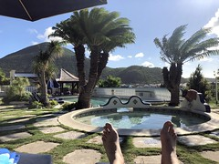 The pool, Hotel L'Esplanade, Grand Case, St Martin