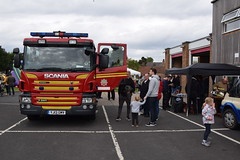 DSC_3107 (matthewleggott) Tags: market weighton fire station east riding yorkshire charity fundraising day prostate cancer humberside rescue service fun cake family families