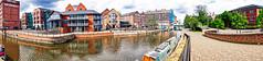 06 May 2019 Nottingham (35a) (AJ Yakstrangler) Tags: nottingham yakstrangler canal panorama