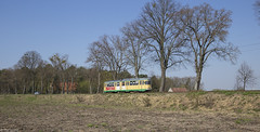 Tussen Schöneiche en Rüdersdorf (Tim Boric) Tags: schöneiche rudersdorf strassenbahn schöneicherlandstrase tram tramway streetcar düwag schöneicherrüdersdorferstrassenbahnen überlandbahn interurban