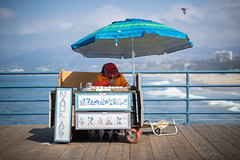 DSC09201 (KayOne73) Tags: samyang rokinon 85mm f 14 prime lens af sony a7iii santa monica ca beach pier