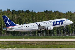 LOT Polish Airlines SP-LID (TO) (U. Heinze) Tags: aircraft airways airlines airplane flugzeug planespotting plane nikon d610 nikon28300mm haj hannoverlangenhagenairporthaj eddv