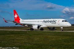 Helvetic Airways HB-JVS (U. Heinze) Tags: aircraft airways airlines airplane flugzeug planespotting plane nikon d610 nikon28300mm haj hannoverlangenhagenairporthaj eddv