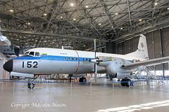 NAMC YS-11 52-1152 JASDF (shanairpic) Tags: propliner ys11 namcys11 japan museum preserved military jasdf 521152 nagoya komaki